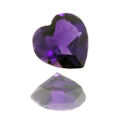 Natural African Amethyst Hearts