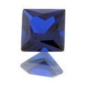 Lab Created Dark Blue Spinel (#113) Princess/Squares