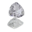 Lab Created White Sapphire Trillions