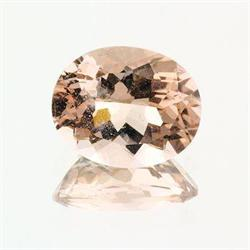 Morganite Oval