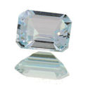 Natural Aquamarine Emerald Cut