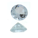 Natural Aquamarine Rounds