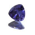 Lab Created Blue Sapphire Trillions