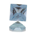 Lab Created Medium Blue Spinel Princess/Squares