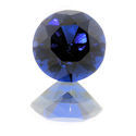 Lab Created Dark Blue Spinel Rounds