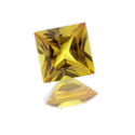 Lab Created Yellow Sapphire Princess/Square