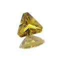Lab Created Yellow Sapphire Trillions